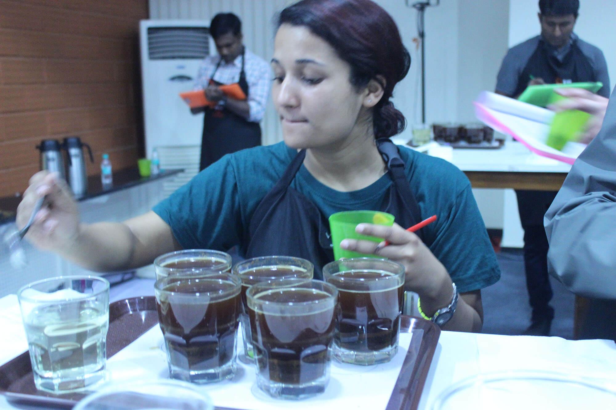 Red Sirocco Coffee Q Grader Arabica Coffee Training 10