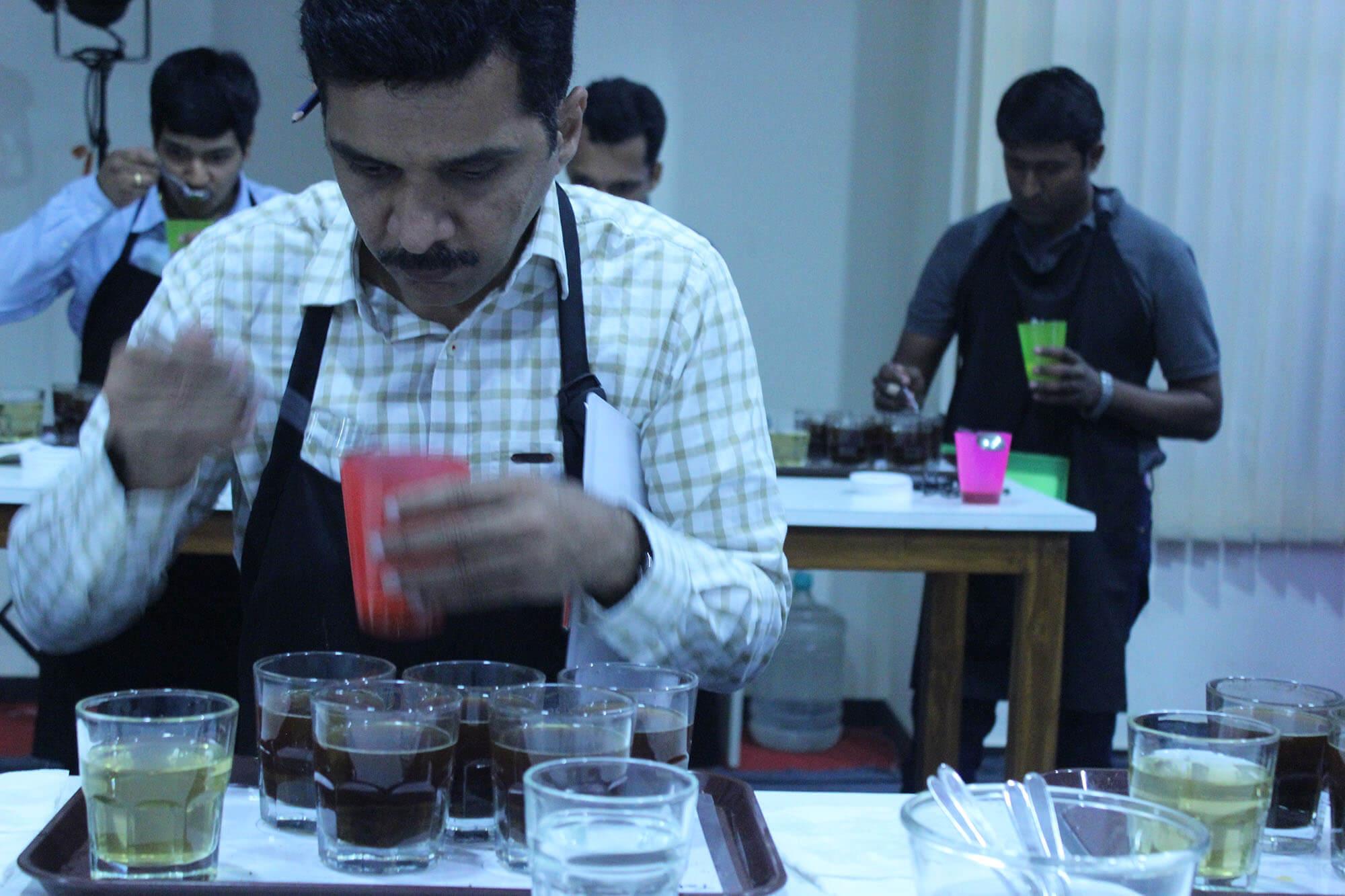 Red Sirocco Coffee Q Grader Arabica Coffee Training 16