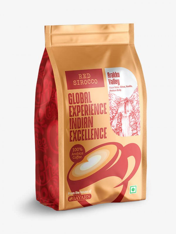 Red Sirocco Coffee Arakku Valley Side 1