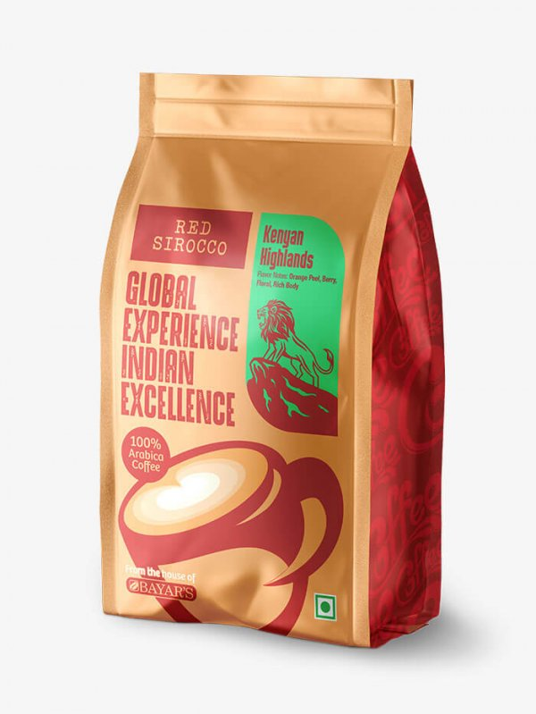 Red Sirocco Kenyan Highlands Coffee side 2