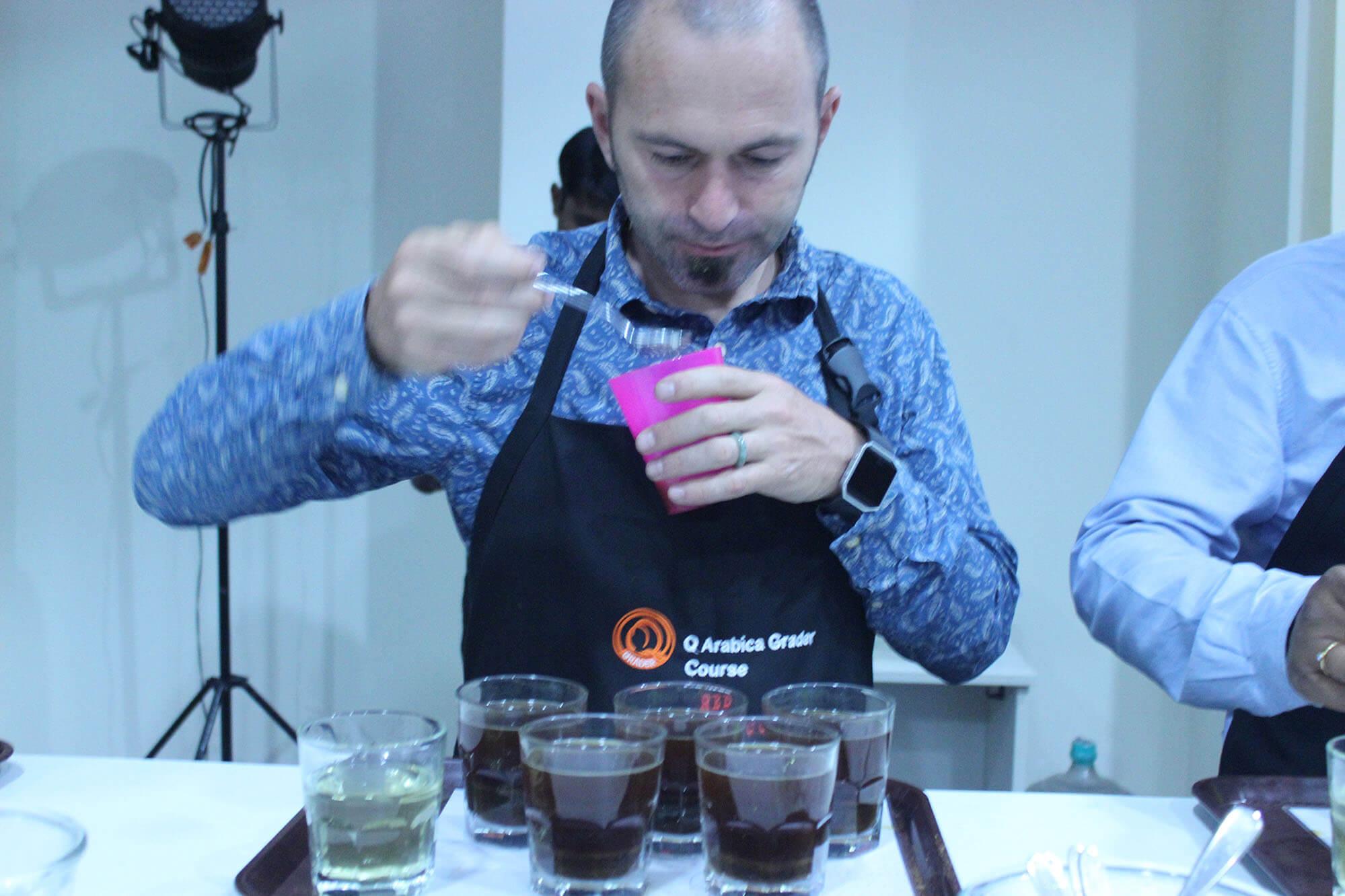 Red Sirocco Coffee Q Grader Arabica Coffee Training 12